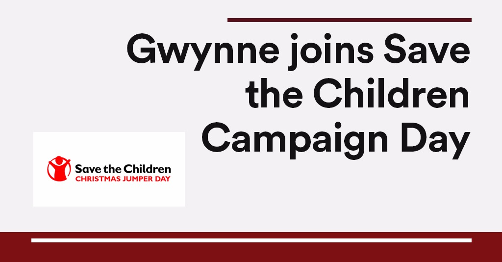 Christmas Jumper Day 2019 Uk.Gwynne Joins Save The Children Campaign Day Andrew Gwynne Mp