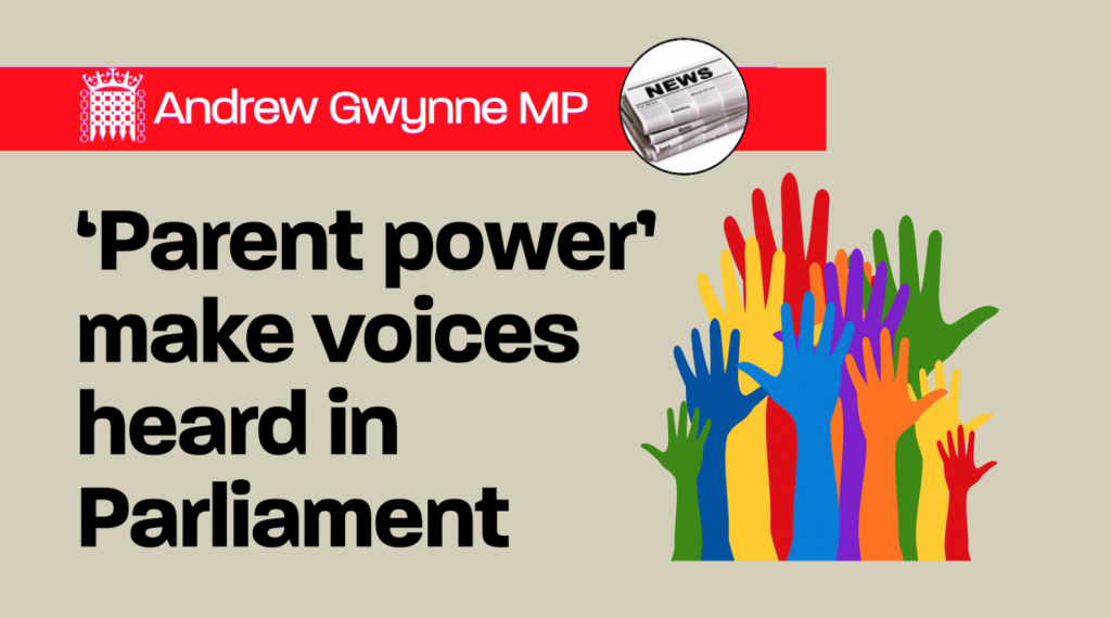 From Parents Have Power To Make Special >> Parent Power Make Voices Heard In Parliament Andrew Gwynne Mp